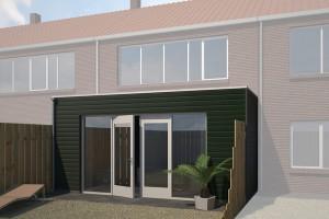 uitbouw huis